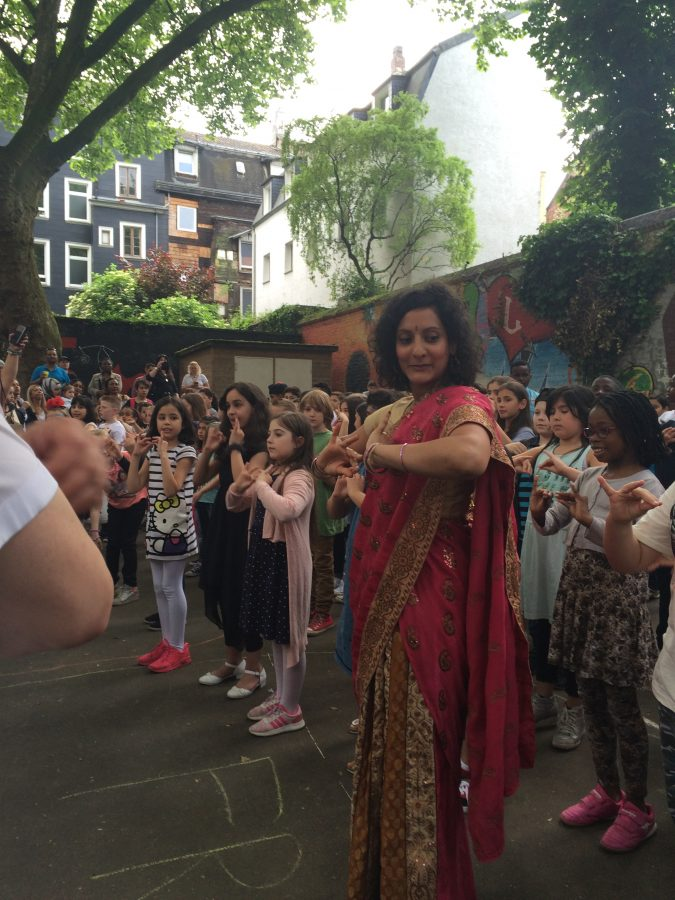 Bollywood Flashmob - alle